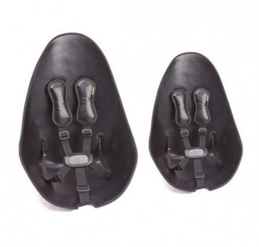 Fresco Chrome Seat Pad Starter Kit Snake Skin Black