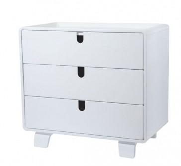 Retro Dresser Coconut White