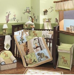 Enchanted Forest 6 Piece Bedding Set by Lambs N Ivy