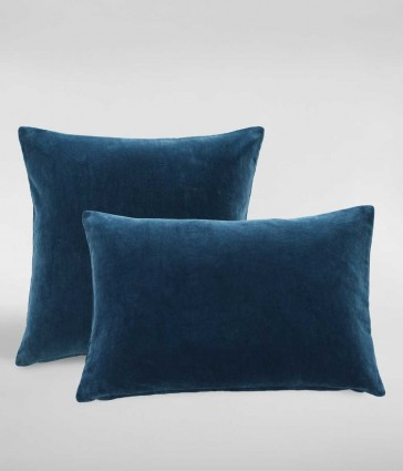 Encore Midnight Square Cushion by MM linen