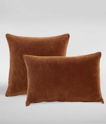 Encore Terracotta Rectangle Cushion by MM linen