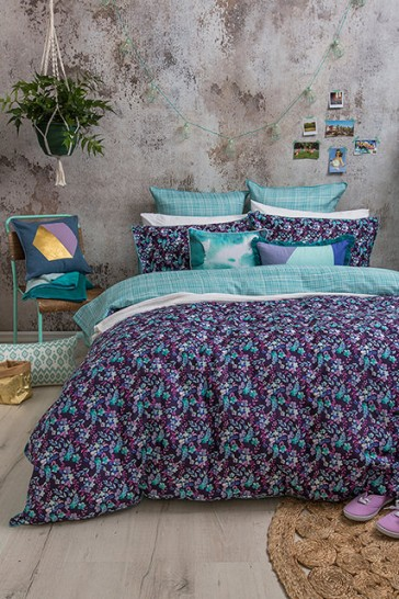 Evelyn Queen Quilt Cover set by Bambury