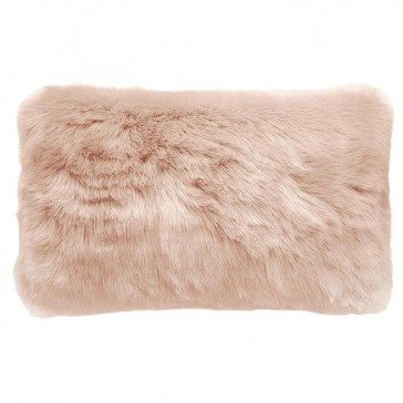 Faux Fur Cushion Nude by Bambury