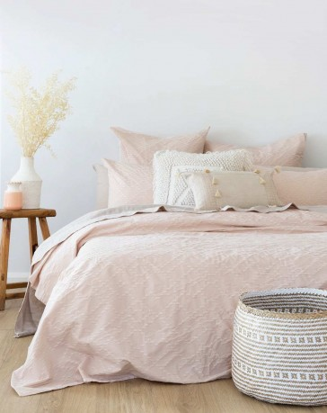 Faye Super King Quilt Cover