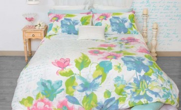Fiore Double Quilt Cover Set by Retro Home