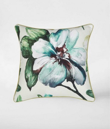 Flora Square Cushion by MM Linen