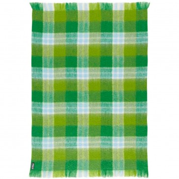 Mohair Grassy Throw Rug by St Albans