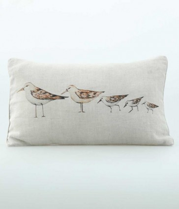Gull Oblong Cushion by MM Linen