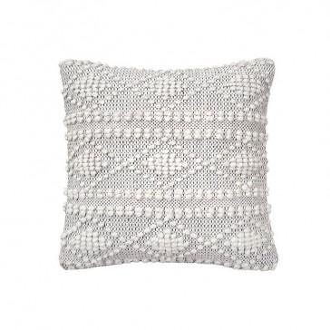 Hadley Cushion Charcoal by Bambury