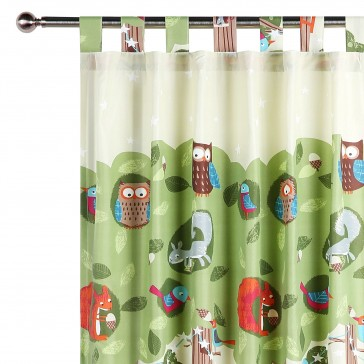 The Big Tree Curtain by Happy Kids