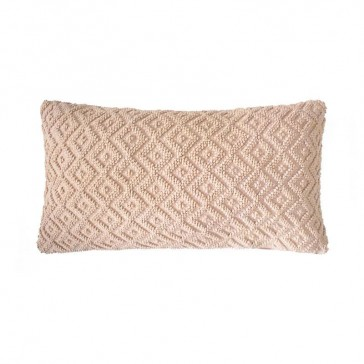 Ilka Cushion Nude by Bambury