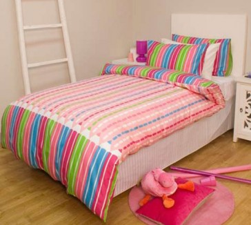 Sketch Single Quilt Cover Set by Jelly Bean Kids