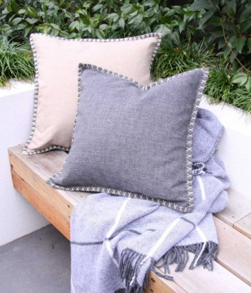Kalo Outdoor Cushion by MM Linen