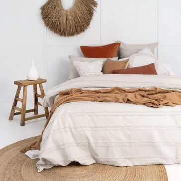 Kelso Double Quilt Cover Set by Bambury