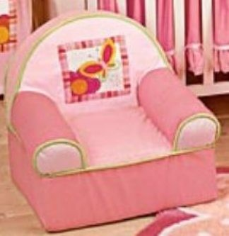 Bright Butterfly Chair by Lambs & Ivy