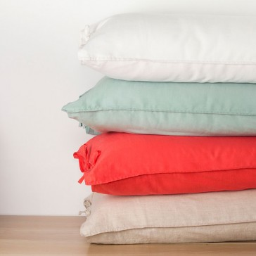 Linen Cotton European Pillowcase by Bambury