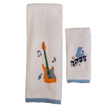 Rockstar Hooded Towel Set by Aden & Anais CS