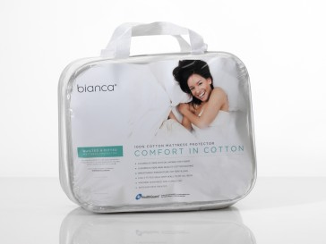 Comfort in Cotton Standard Pillow Protector by Bianca
