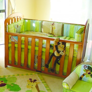 Maya 4 In 1 Cot by Babyhood