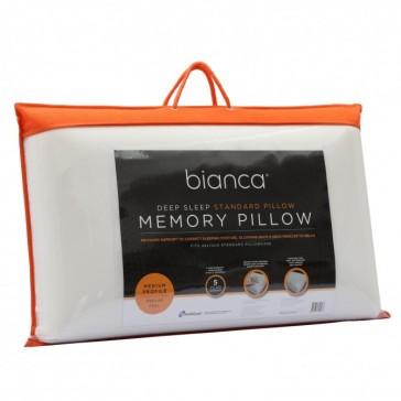 Deep Sleep Standard Memory Foam Pillow by Bianca