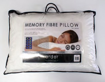 Memory Fibre Pillow by Ardor (Bedding Accessories)
