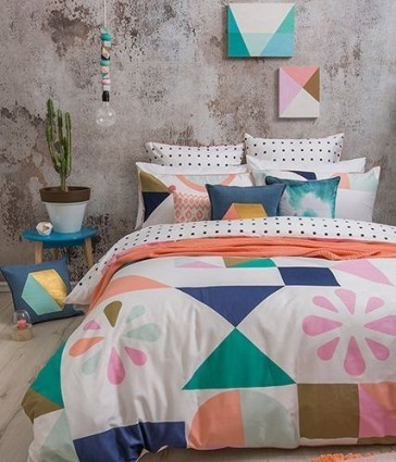 Memphis Quilt Cover Set by Bambury