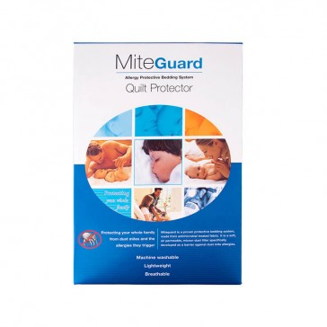 MiteGuard Cot Quilt Protector by Bambury