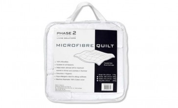 Microfibre Single Quilt by Phase 2