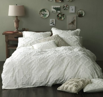 Clover King Quilt Cover Set by MM Linen