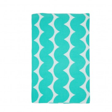 New Wave Aqua Blanket by Scout