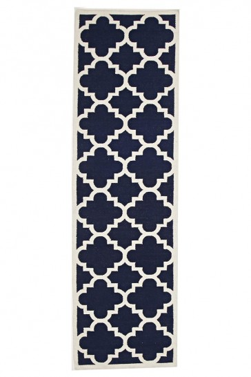 Nomad 23 Navy Runner by Rug Culture