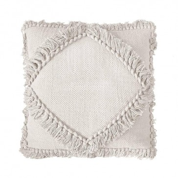 Oasis Cushion Ivory by Bambury