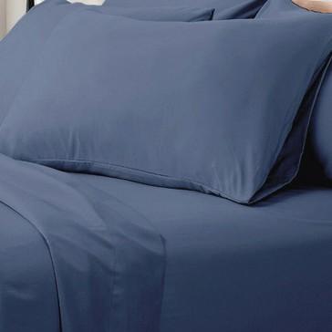 1000TC Ultra Soft Super King Bed Sheet Set - Ocean
