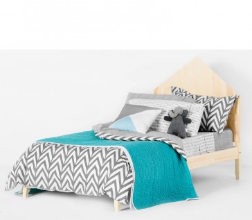 Oslo Grey Single Quilt Cover Set by Scout