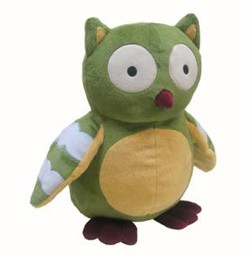 Enchanted Forest Plush Owl by Lambs & Ivy