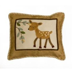 Enchanted Forest Pillow by Lambs & Ivy