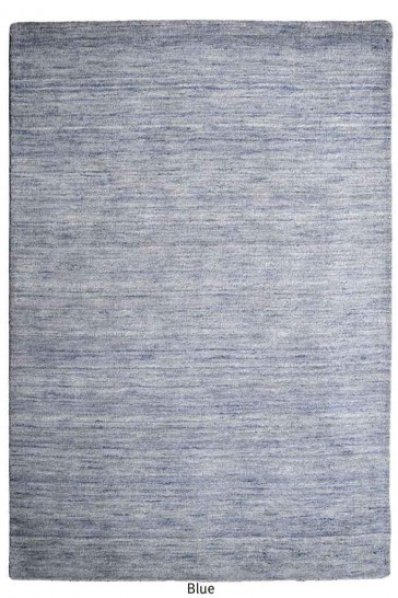 Roma Blue Twisted Wool Rug by Rug Republic