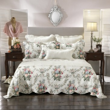 Rosedale Queen Bedspread Set by Bianca