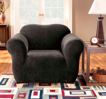 Pearson 1 Seater Ebony Sofa Cover by Sure Fit CS