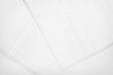 Rasberry Stripe King Single Sheet Set by Lullaby Linen