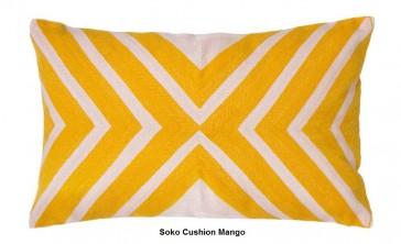 Soko Mango Cushion by Bambury