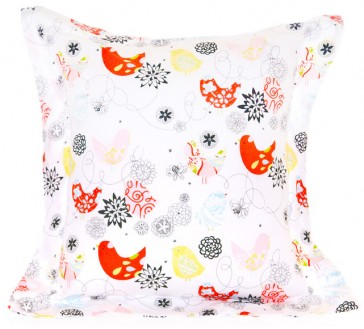Spring Time Flange Cushion by Lullaby Linen