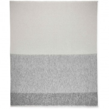 Vapour Alpaca Throw Blanket by St Albans