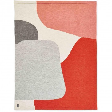 Emily Wool Knit Throw Rug by St Albans