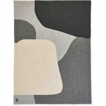Jamie Wool Knit Throw Rug by St Albans