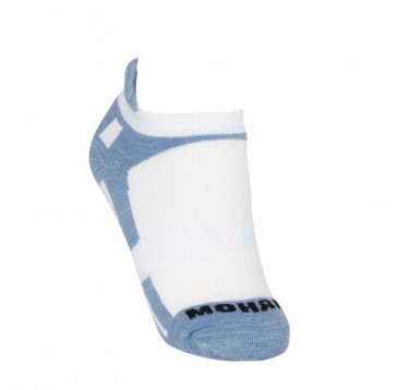 Womans Sky / White Sports Sock by St Albans