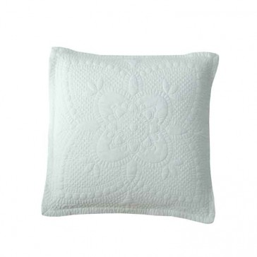 Anjou White Cushion by MM Linen