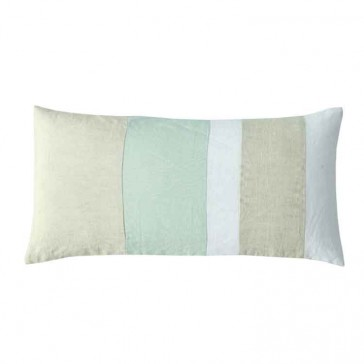 Linen Panel Oblong Cushion by MM Linen