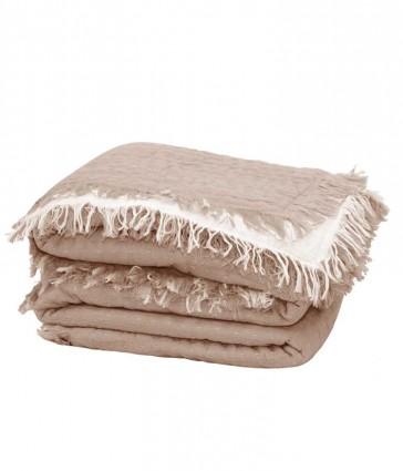 Tali Blush Throw Rug by MM linen