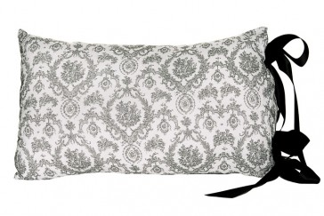 Cameo Tie Cushion by Lullaby Linen